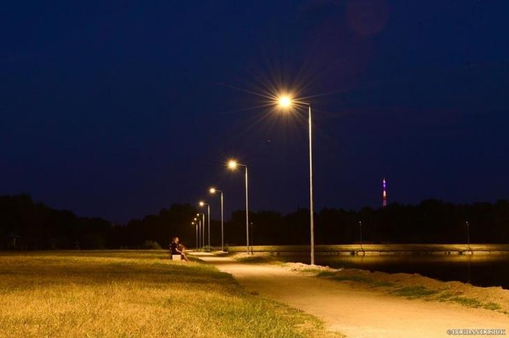 У Франківську капітально відремонтували мережі зовнішнього освітлення (фотофакт)